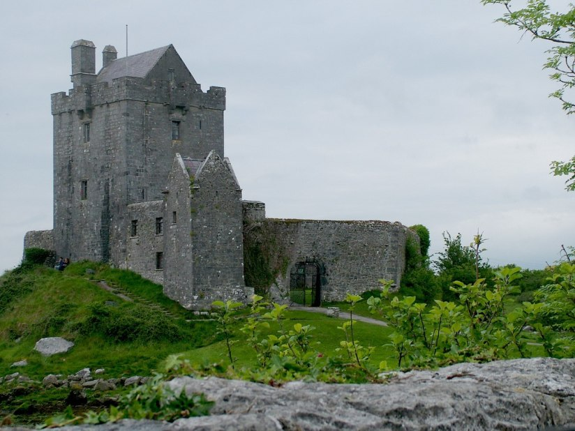 dunguaire castle the burren - ireland