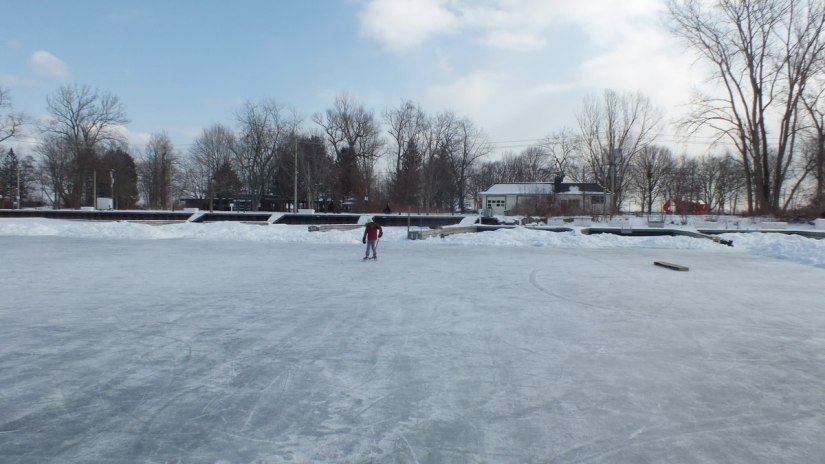lagoon skating rink on ward's island - toronto 2