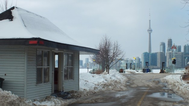 Piano house at the Ward's Island Ferry Terminal in Toronto, Ontario