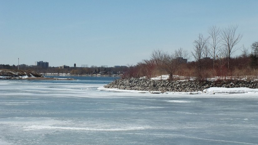 Harbour at Colonel Samuel Smith Park in Etobicoke, Ontario, Canada