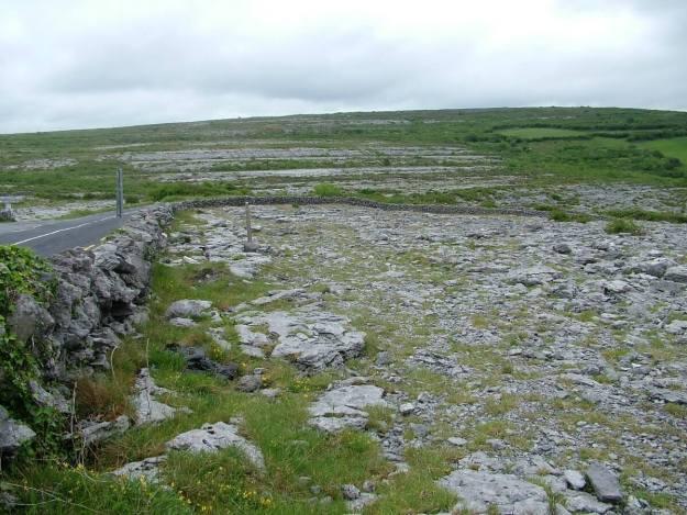 road through the burren in county clare - ireland 2