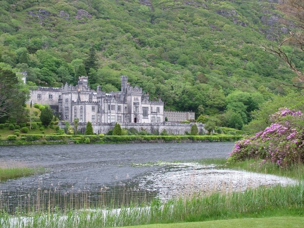 Kylemore Abbey in County Galway, Ireland