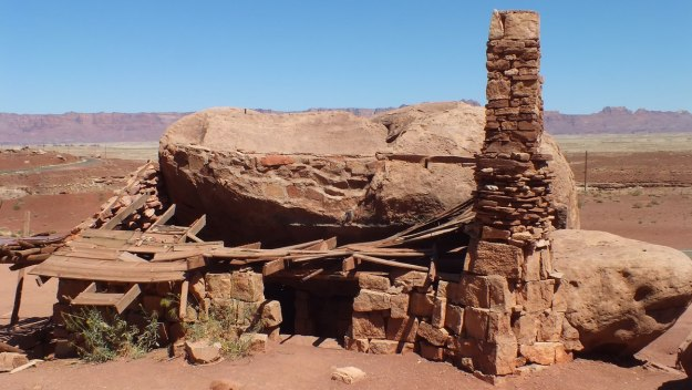 Blanche Russell Rock House in Marble Canyon in Arizona, U.S.A.
