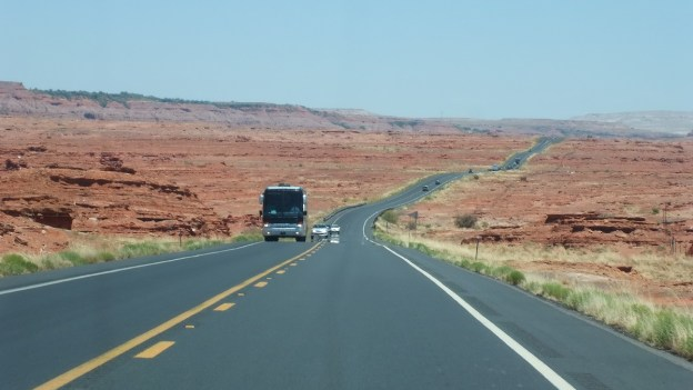 hwy 89 through painted desert - arizona