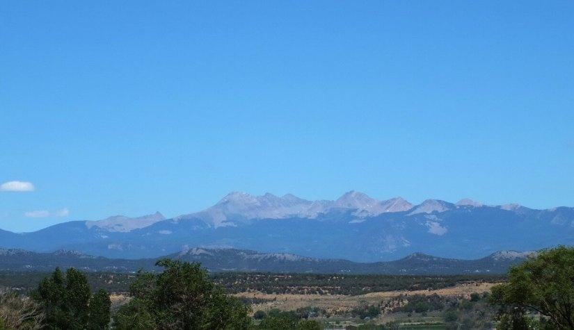 san juan mountains near mesa verde national park - colorado