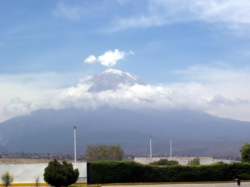 El Misti volcano near Arequipa, Peru, South America