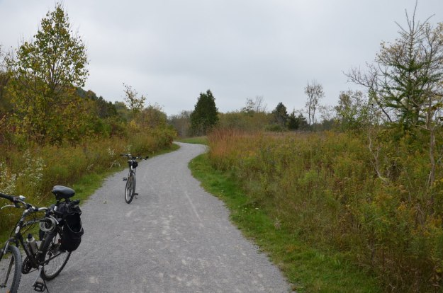 bike trail - aurora - ontario