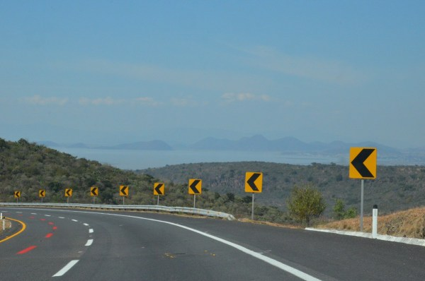 Hwy 15d near Lago de Cuitzeo, in the Michoacán State, Mexico