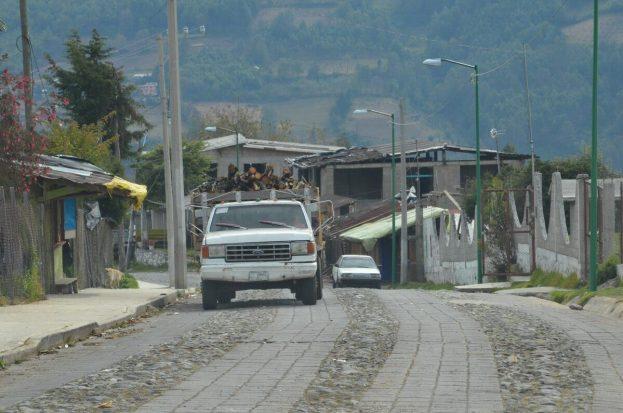logging truck , mexico