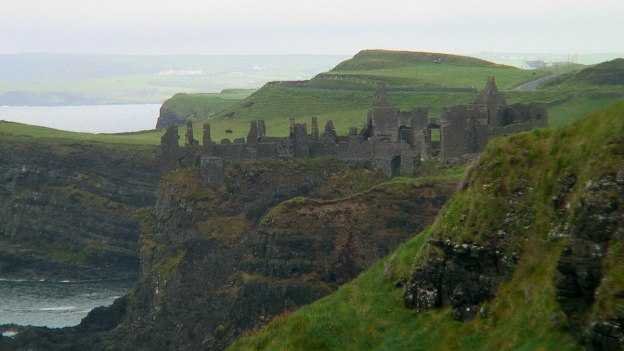 An image of Dunluce Castle on the North Atlantic coast in County Antrim, Northern Ireland. Photography by Frame To Frame - Bob and Jean.