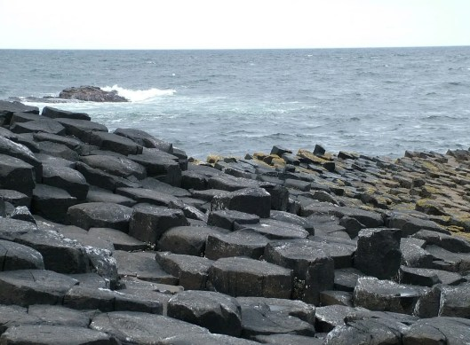 An image of the stones at the Giant's Causeway in Northern Ireland. Photograhy by Frame To Frame - Bob and Jean.