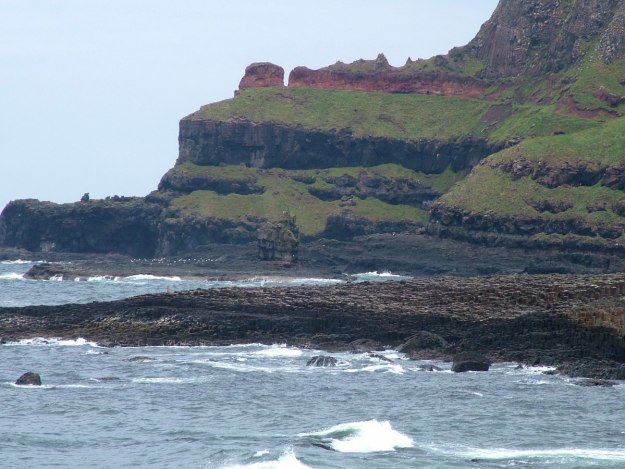 An image of the rocky shoreline at Giant's Causeway in Northern Ireland. Photography by Frame To Frame - Bob and Jean.