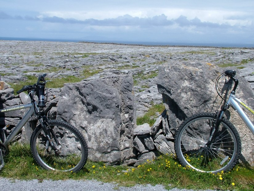 rental bikes on inishmore island, ireland, pic 2