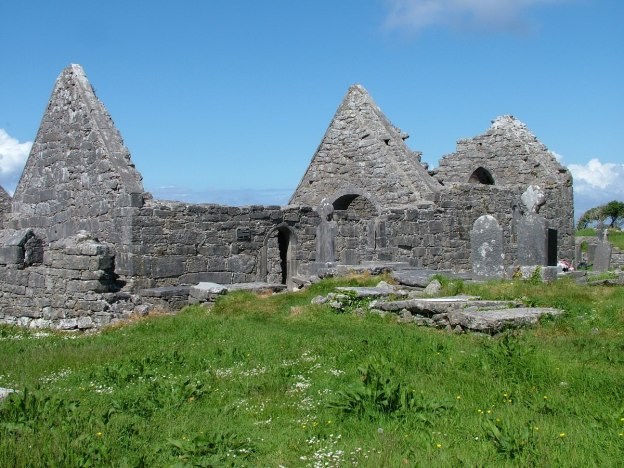 the seven churches ruins, inishmore island, ireland pic 4
