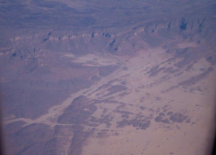 flight over sahara desert, africa 2