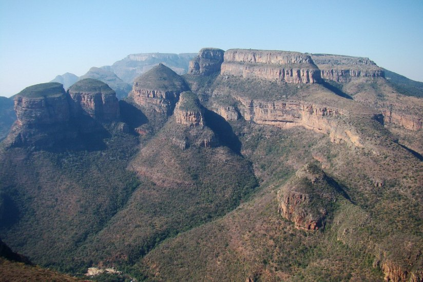 The Three Rondavels on the Mpumalanga's Panorama Route, South Africa