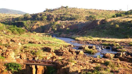 bourkes luck potholes, south africa