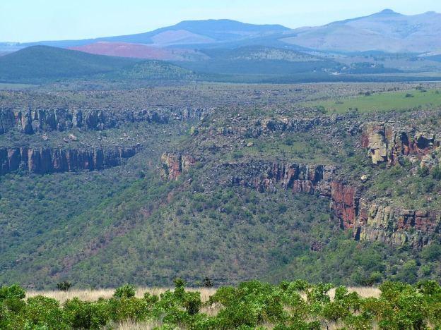 Drakensberg escarpment in South Africa