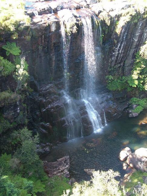 pinnacle waterfall, graskop, south africa, 2