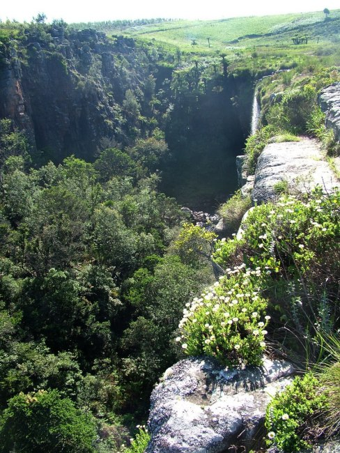 pinnacle waterfall, graskop, south africa, 3