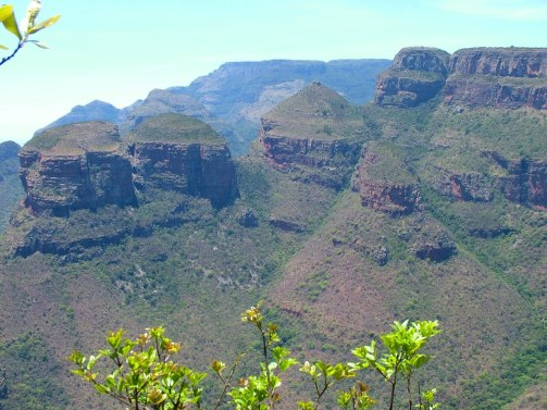 the three rondavels, blyde river canyon, south africa