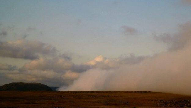 Storm clouds near Sabie, South Africa.