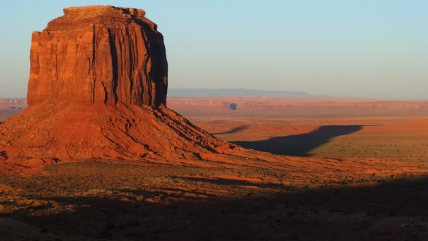 Merrick Butte in Monument Valley in northeast Navajo County, Arizona, USA