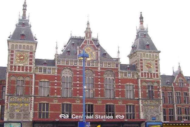 Central Station, Amsterdam, The Netherlands
