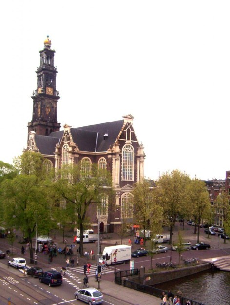 westerkerk, west church, amsterdam, the netherlands