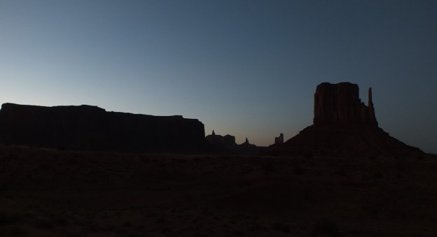 Dusk in Monument Valley in Arizona, USA 3