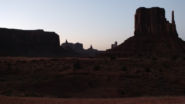 Dusk in Monument Valley in Arizona, USA.jpg 2
