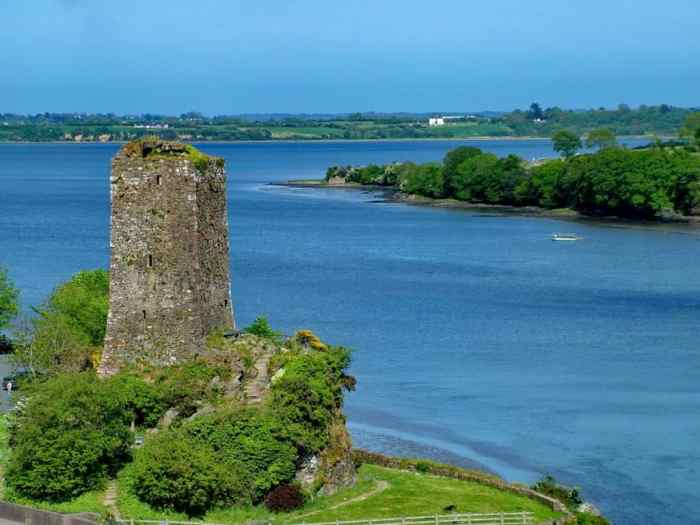 Ferrycarrig Tower House on the River Slaney, Ireland