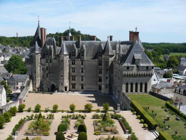 An image of Chateau de Langeais in the Loire Valley in France.