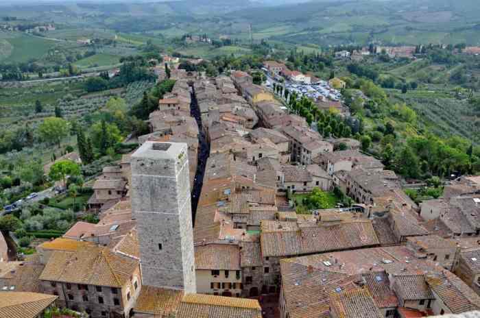 Image of San Gimignano, Italy.