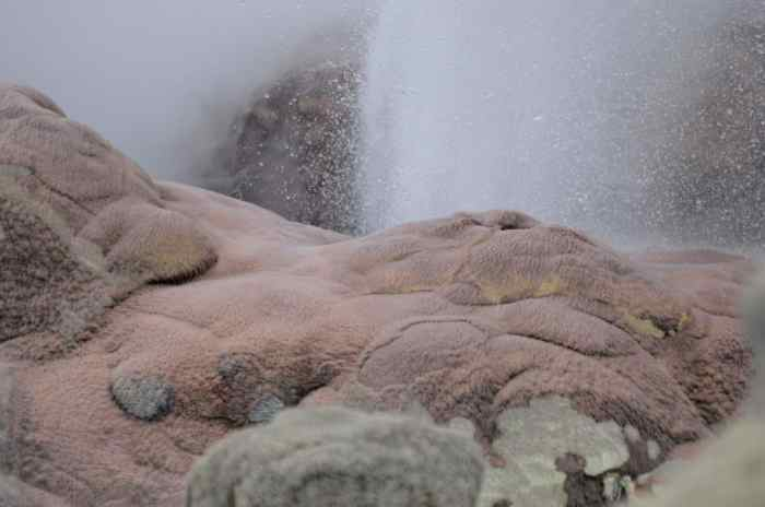 Image of venting hole at Te Puia Geothermal Preserve, Rotorua, New Zealand