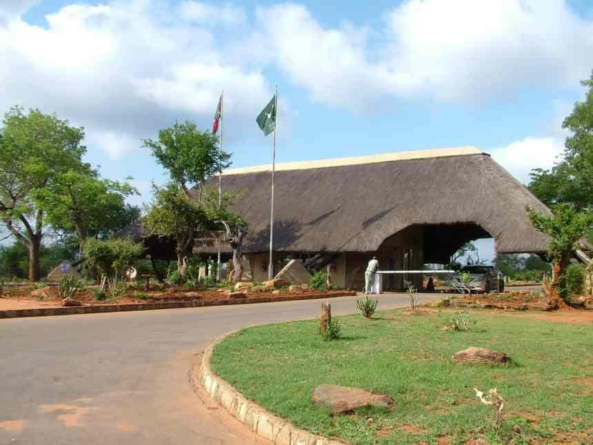 melalane gate, kruger national park, south africa