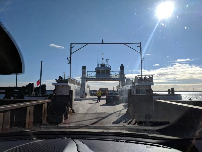 car ferry, millhaven, ontario