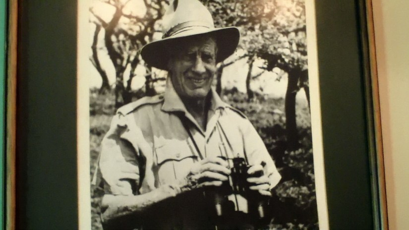 photo of captain h.b. potter at hilltop camp, hluhluwe-imfolozi, south africa