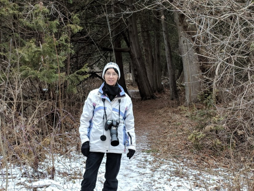 jean in the cedar woods, rouge national urban park, ontario