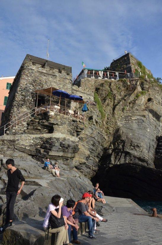 doria castle, vernazza, cinque terre, italy