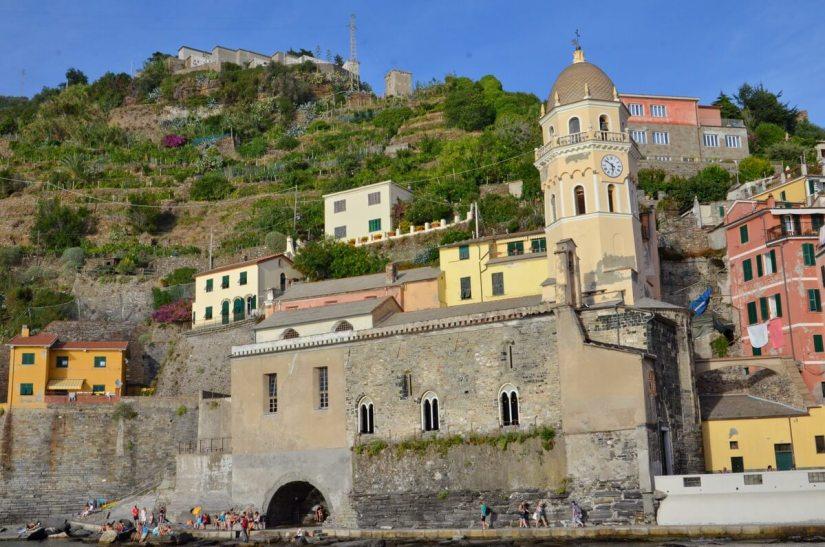 Santa Margherita Dantiochia Church, vernazza, cinque terre, italy