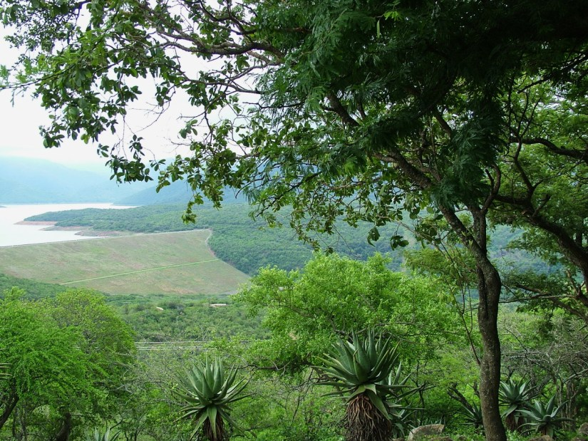 lake phobane and the umhlatuze valley, shakaland, kwazulu-natal, south africa