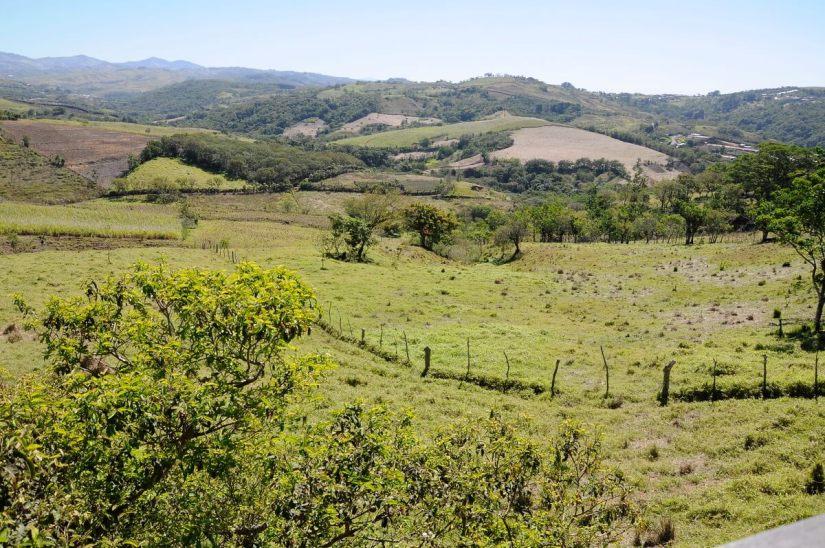 countryside landscape, costa rica