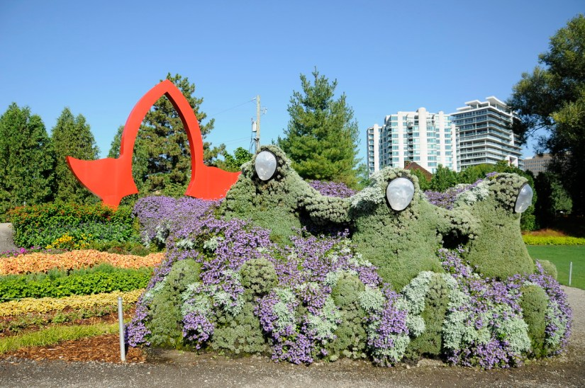 gateway to ontario, mosaiculture 2018, gatineau, quebec, canada