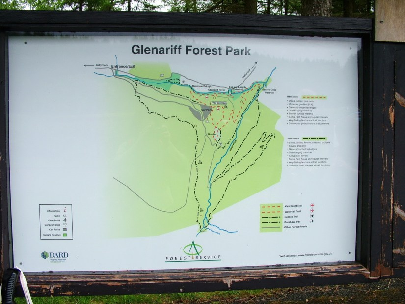 glenariff forest park map
