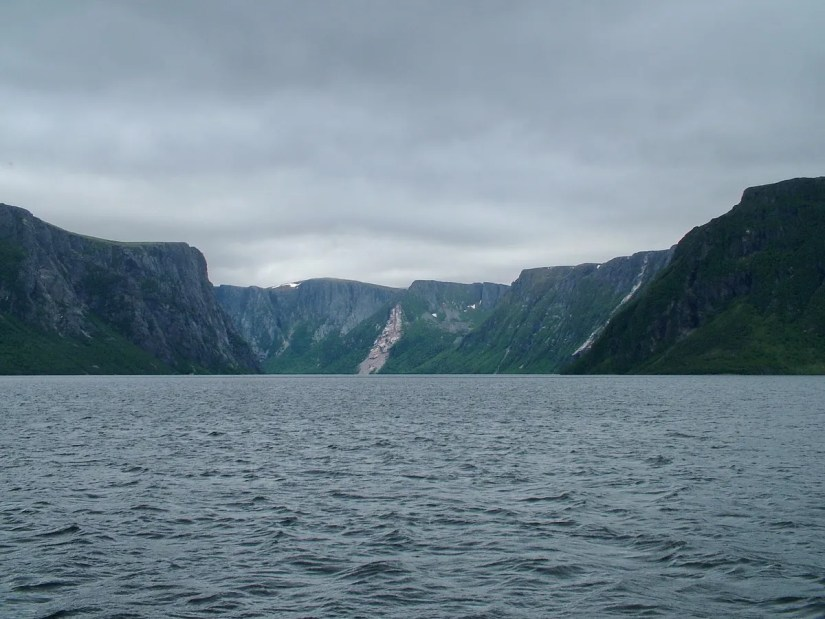 western brook pond, gros morne national park, newfoundland, canada