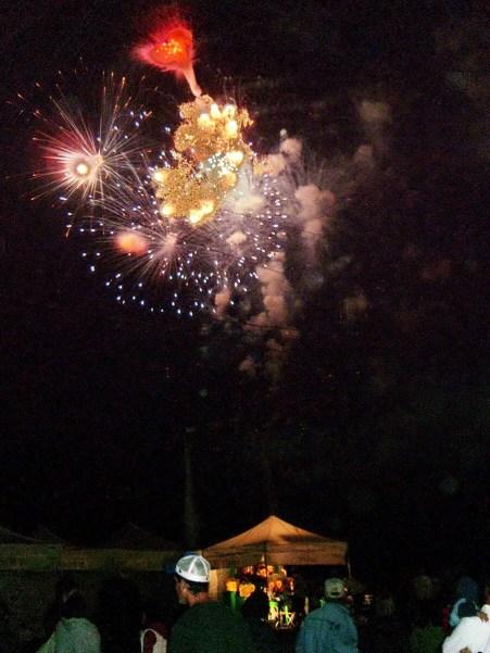 fireworks, markham fair, markham, ontario, 2007