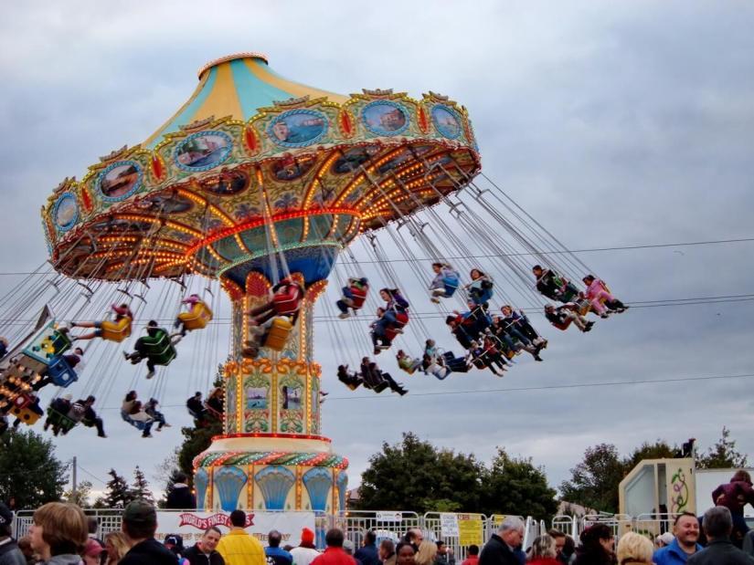 giant swing, markham fair, markham, ontario, 2008