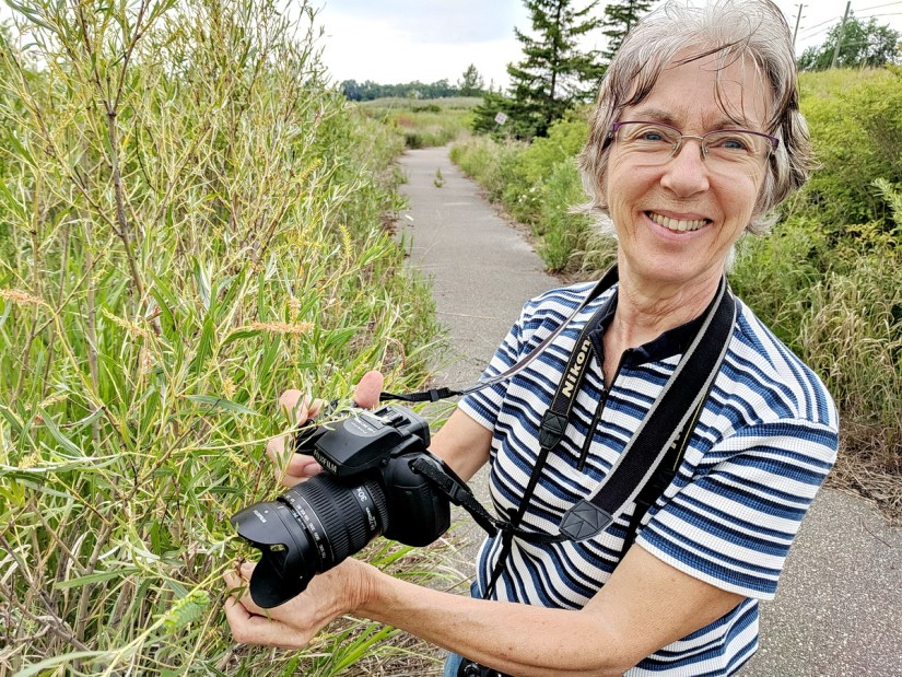 jean at north reesor pond, rouge national urban park, markham, ontario