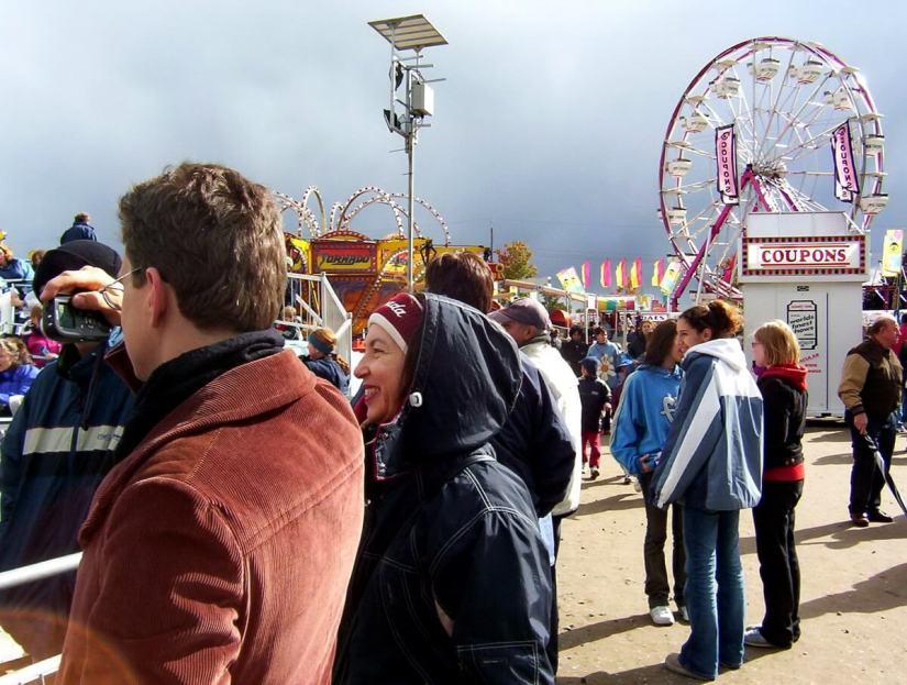 midway rides, markham fair, markham, ontario, 2003